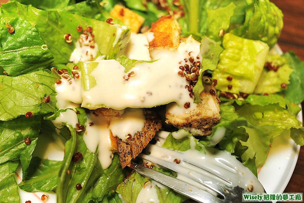 雞肉藜麥沙拉