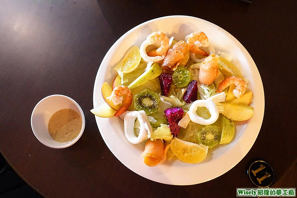 海鮮總匯沙拉