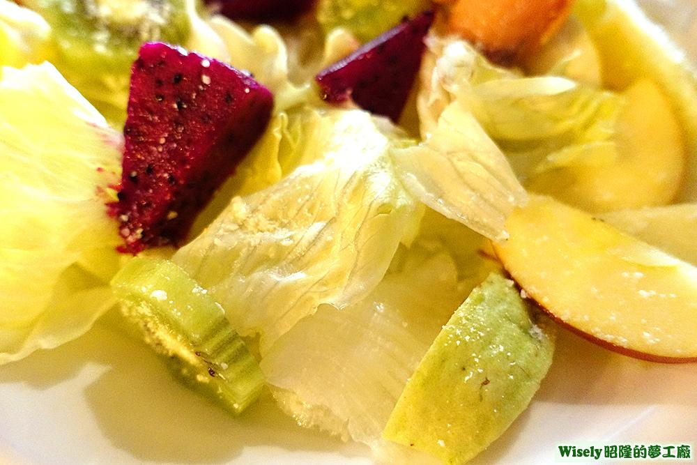 火龍果、美生菜