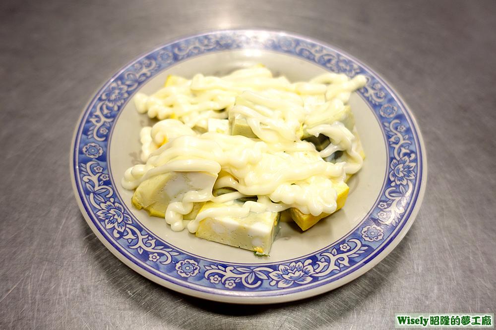 沙拉三色蛋
