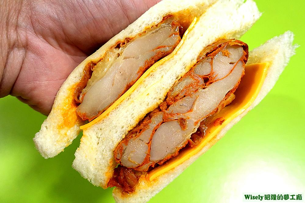 紐奧良風味烤雞三明治