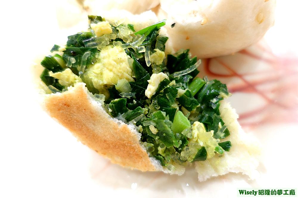 韭菜生煎包