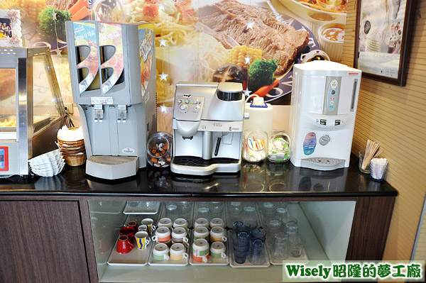 果汁機、咖啡機、飲水機