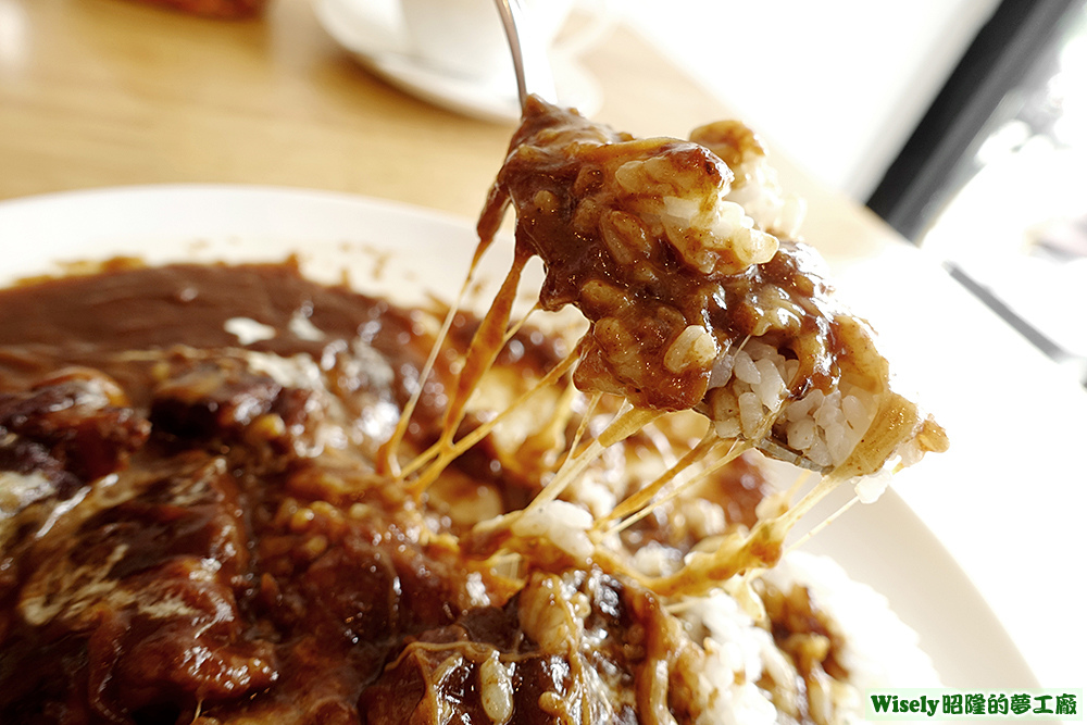 Fondbrown飯(加起司)