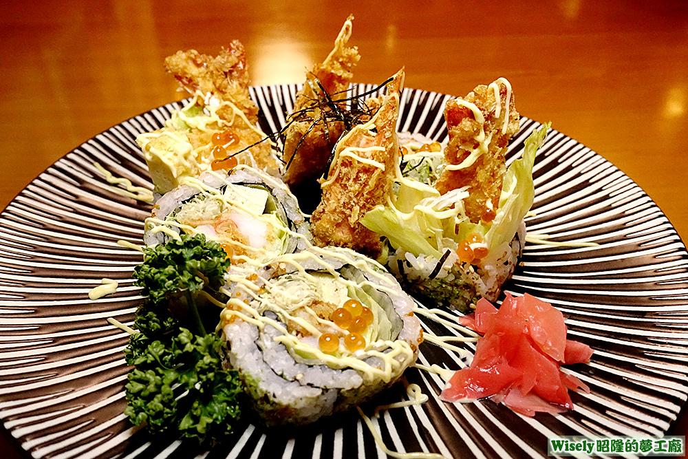 蝦壽司三吃
