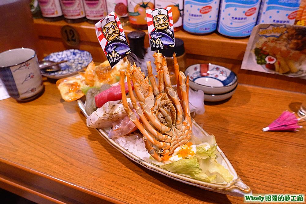 海王龍蝦丼丼