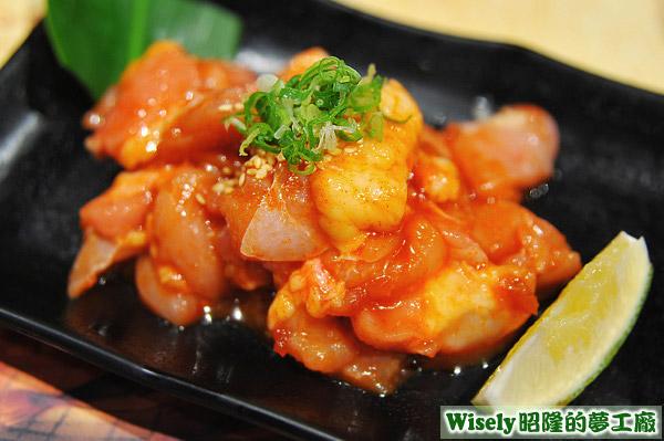 韓式辣味無骨雞腿肉