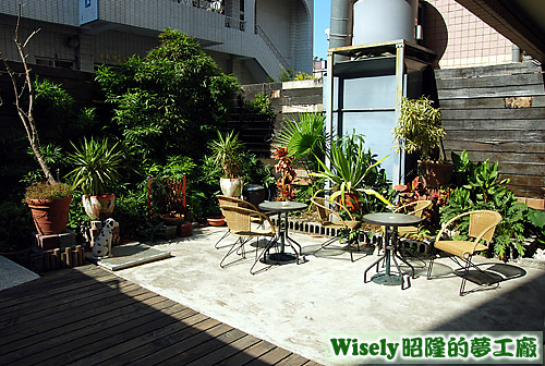 庭園(吸菸區)