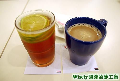 檸檬紅茶、鴛鴦奶茶
