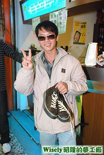 ?試穿合適而獲得的男鞋