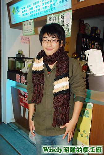 秋月的禮物:圍巾