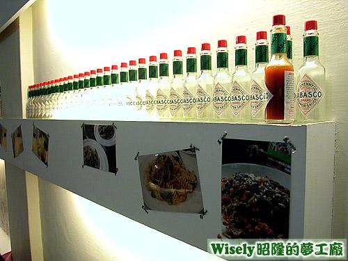 TABASCO醬瓶