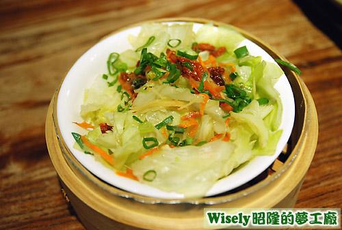 清蒸高麗菜