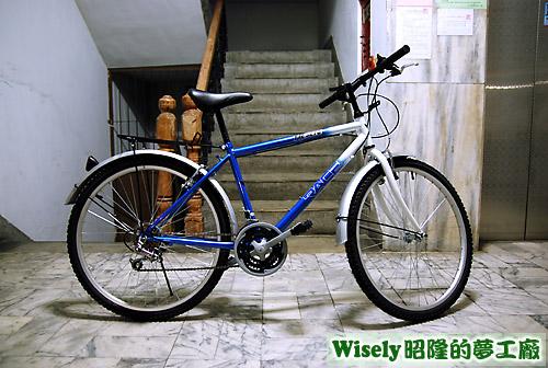 RACES TR3270藍白單車