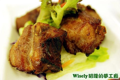 泰式烤豬肋排