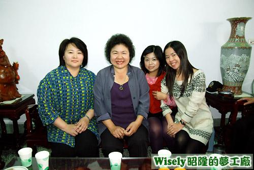 阿嵐的小舅媽、高雄市長陳菊、阿嵐、文萱