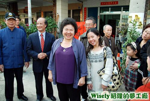高雄市長陳菊、文萱