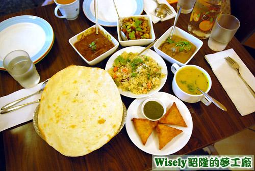 印度料理大餐