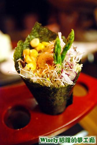 日式蝦手卷