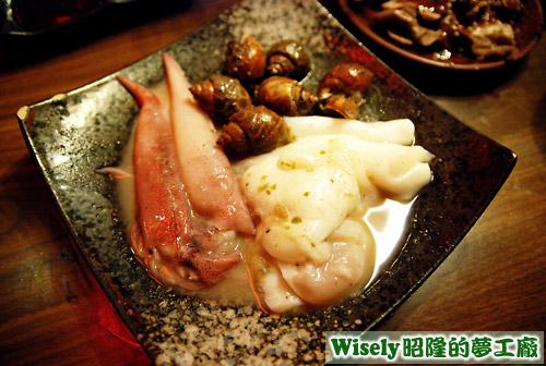 尖卷味噌、八爪味噌、胡椒鳳螺