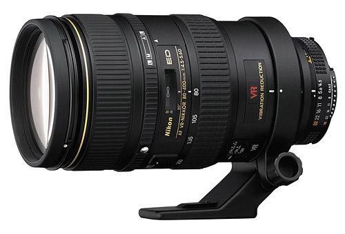 Nikon AF VR 80-400mm F/4.5-5.6D ED