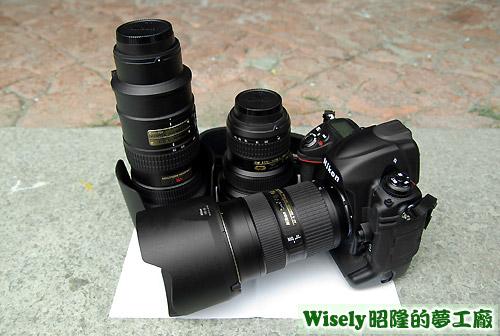 Nikon D3和大三元