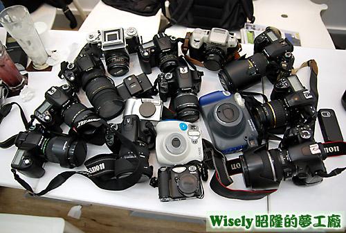 相機大集合