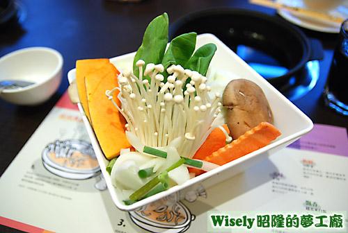 蔬菜盤(兩人份)
