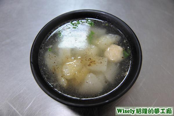 菜頭綜合湯