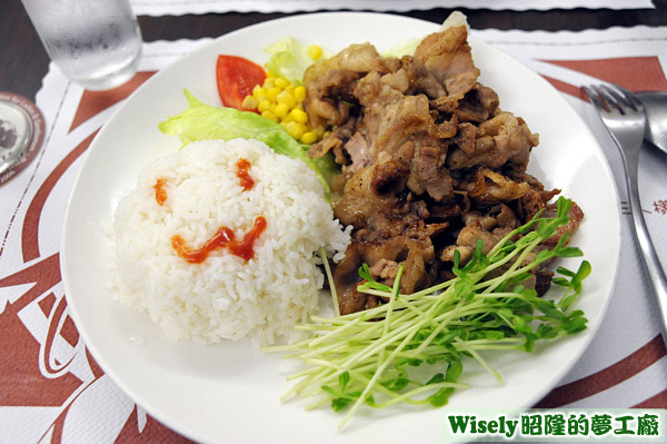 MAID手製燒肉(豬)