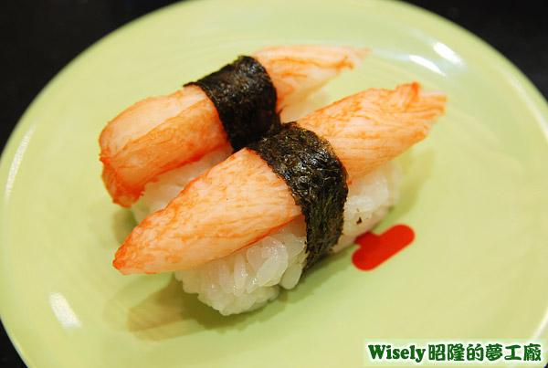 蟹肉棒握壽司