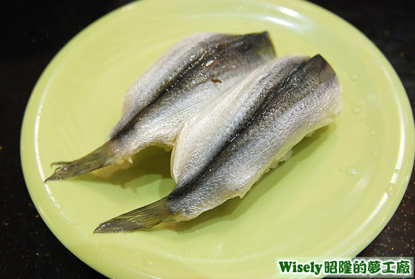 鯡魚握壽司