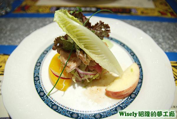松阪豬沙拉