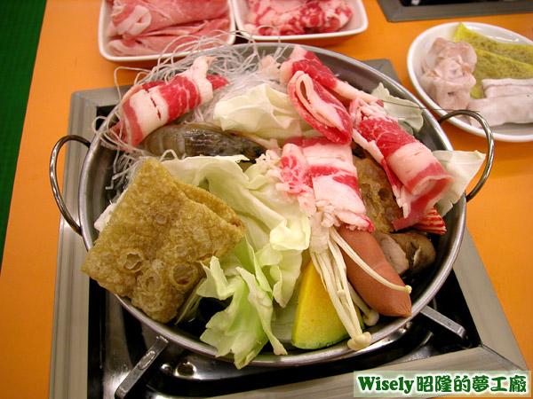 頂級牛肉鍋