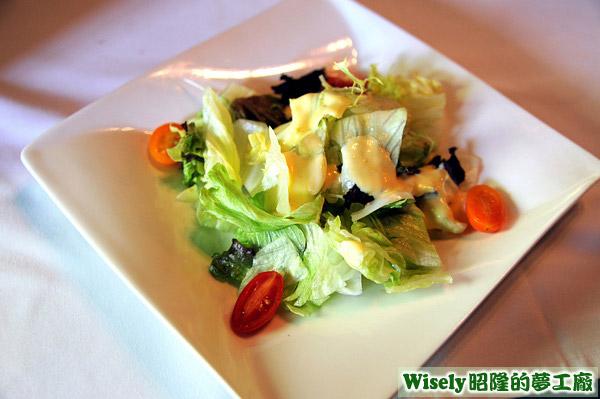 什錦沙拉:澄汁沙拉