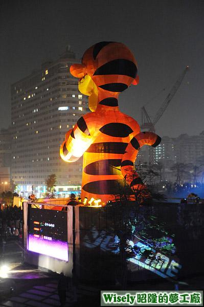 虎年元宵燈會主燈:跳跳虎