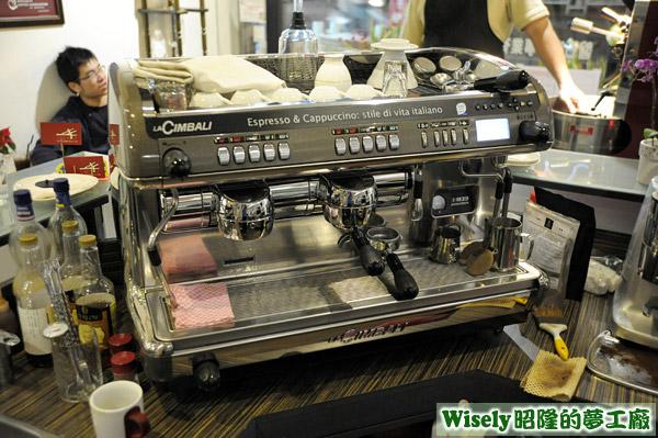 LACIMBALI咖啡機
