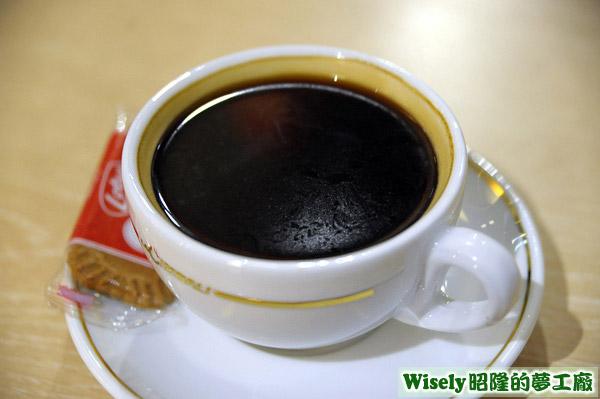 美式咖啡(熱)
