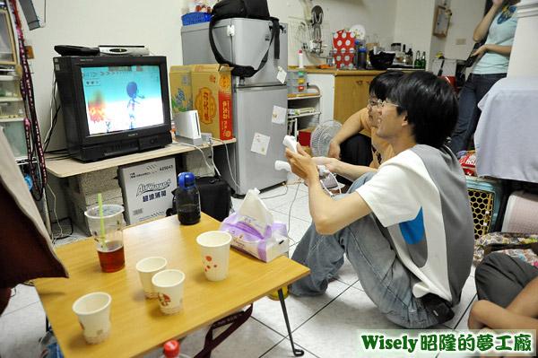 奎翰玩Wii