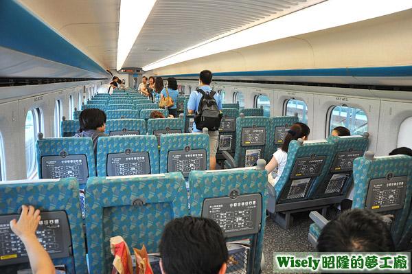 高鐵列車內裝