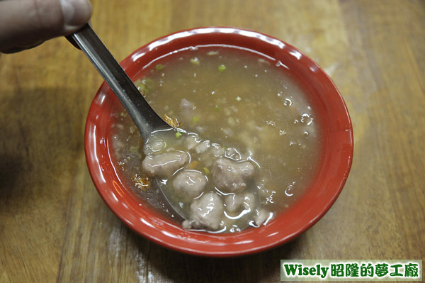 肉羹湯(小)