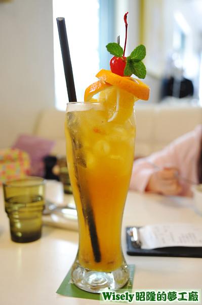 鮮果冰茶(冰)