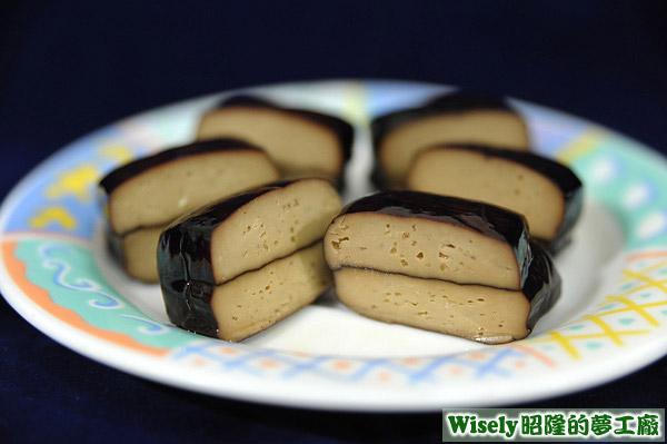 小鈴鐺素豆干(原味、茶燻、香辣)