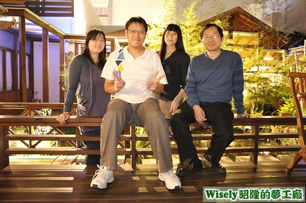 嘉華、我、靜雯、衍奇