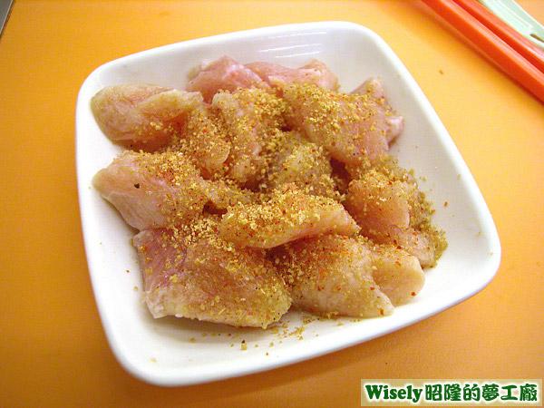 香草鮮雞肉