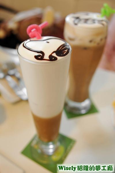 焦糖拿鐵咖啡(冰)