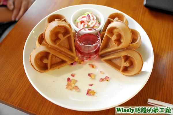 玫瑰露鬆餅