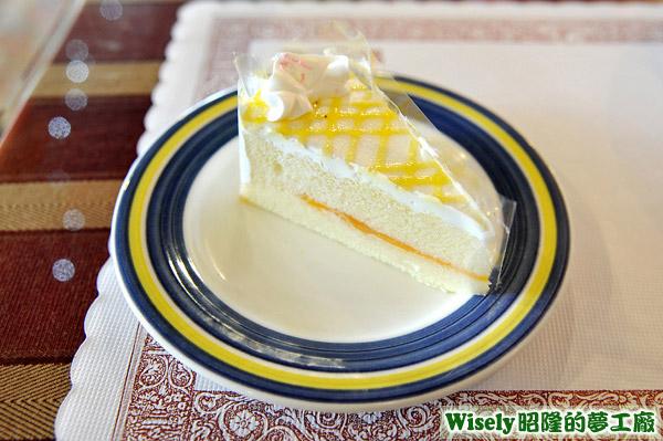 水蜜桃蛋糕