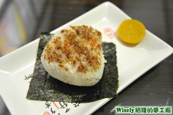 鮭魚卵烤飯糰