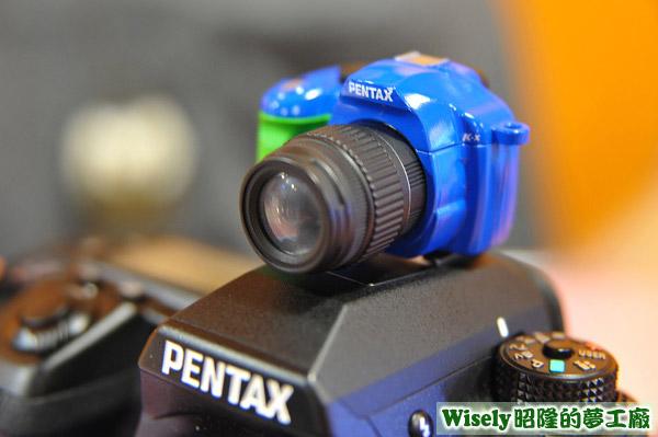 PENTAX熱靴蓋小相機